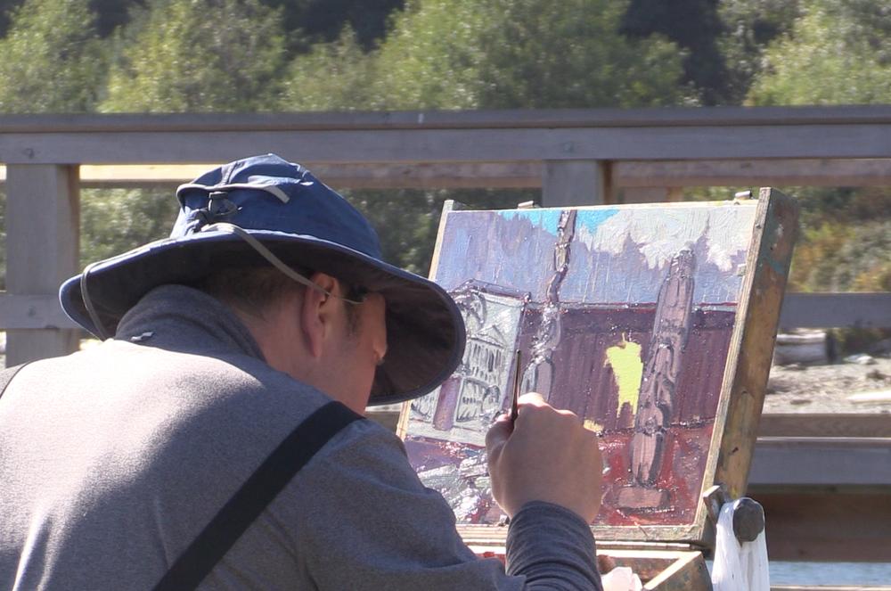 Painting U'mista