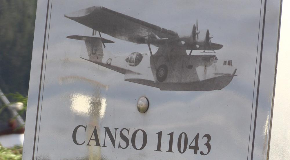 RCAF 'Catalina' plaque