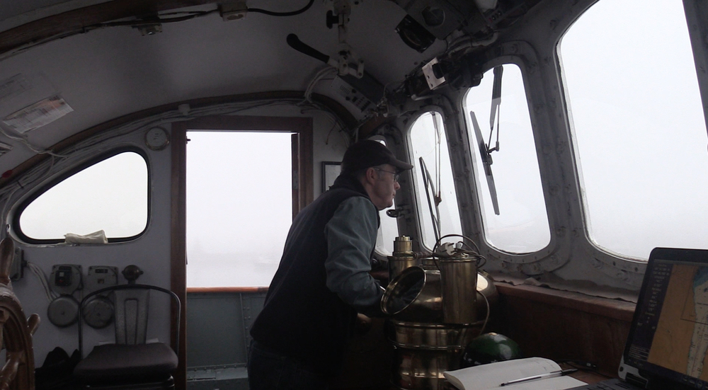 Captain John in the mist