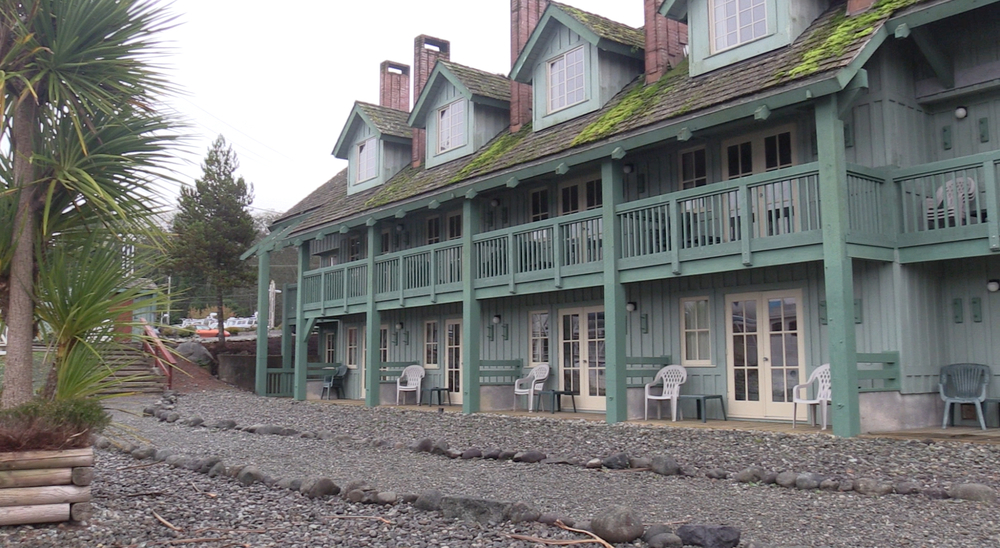 Canadian Princess Fishing Lodge in Ucluelet, very nice!