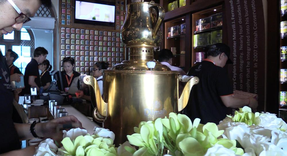 A Dilmah t-Lounge