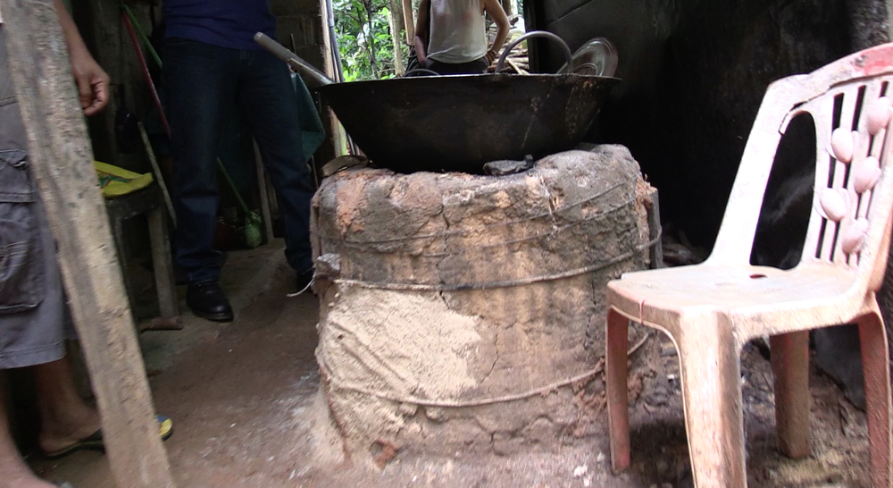 Wood fired deep fryer