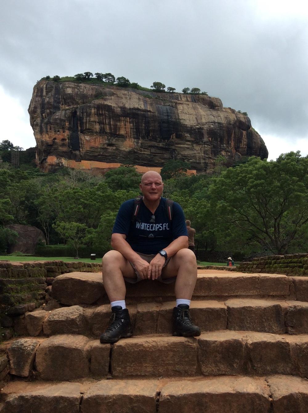 Scott on location in Sri Lanka