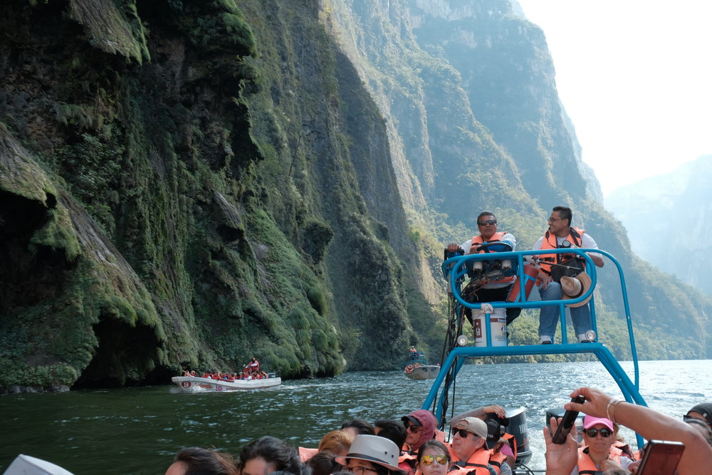 The Sumidero Canyon