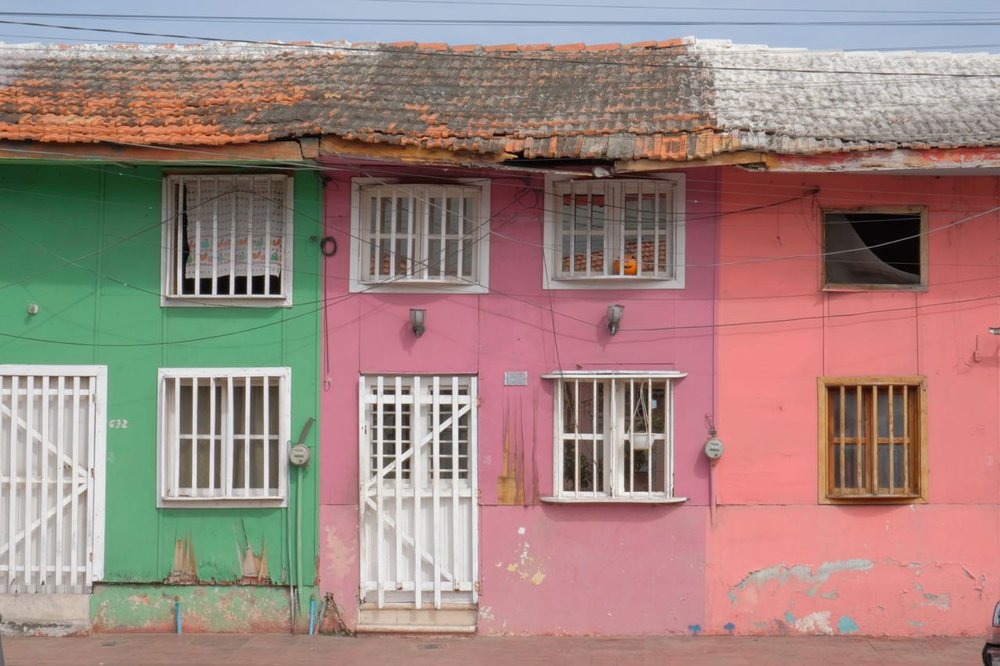 Historical buildings in Vera Cruz