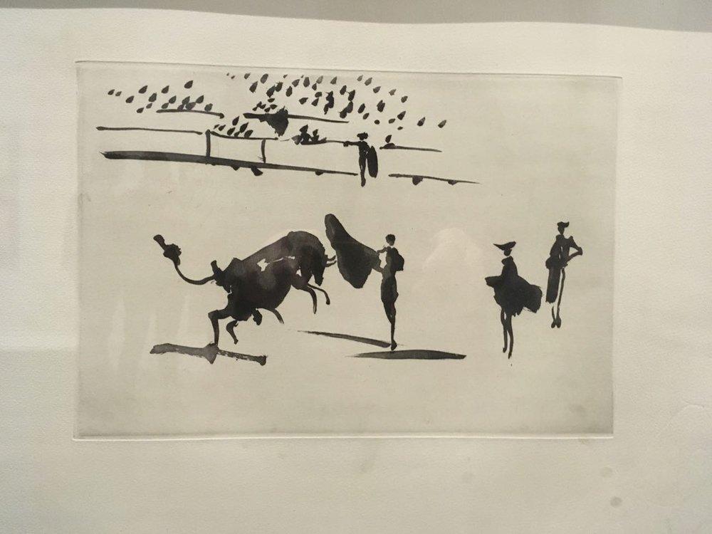 'La tauromaquia o Arte de torear' - The art of bullfighting. 26     aquatints by Picasso
