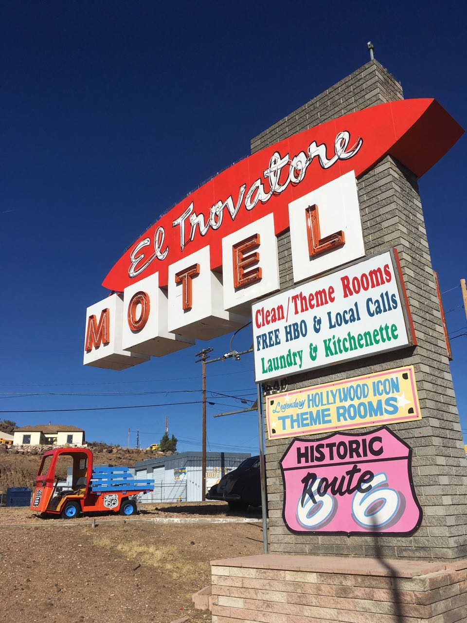A classic Route 66 motel