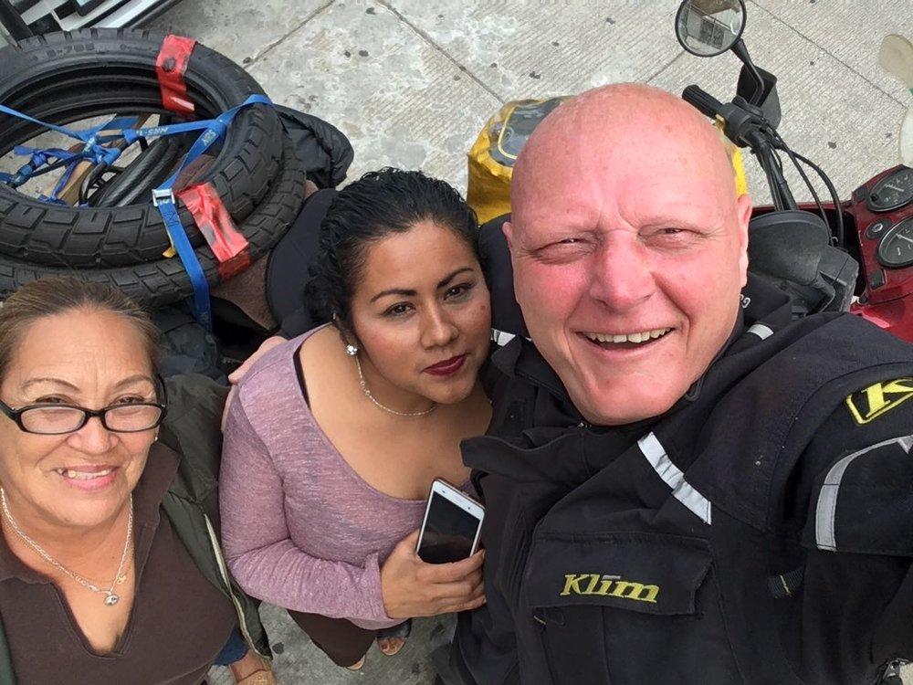 Hotel staff in Vera Cruz