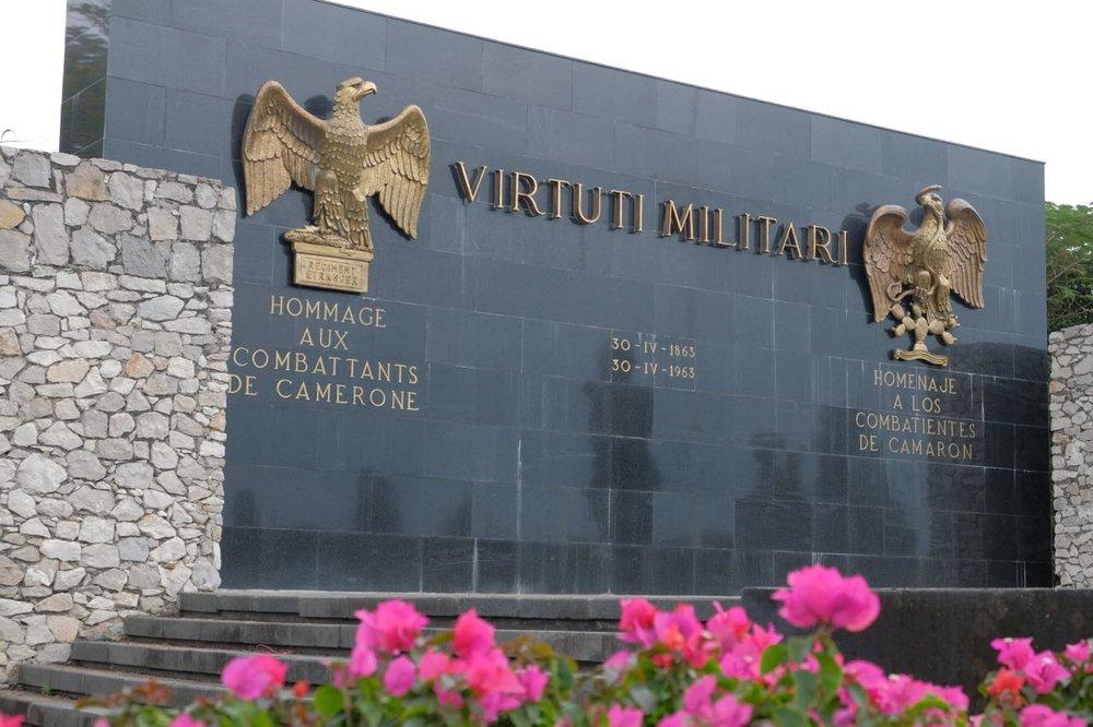 Camerone Memorial