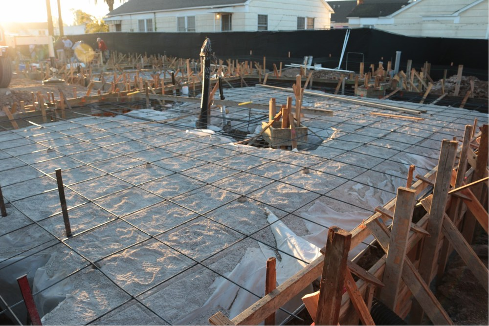 October 21st - The day before the concrete pour...
