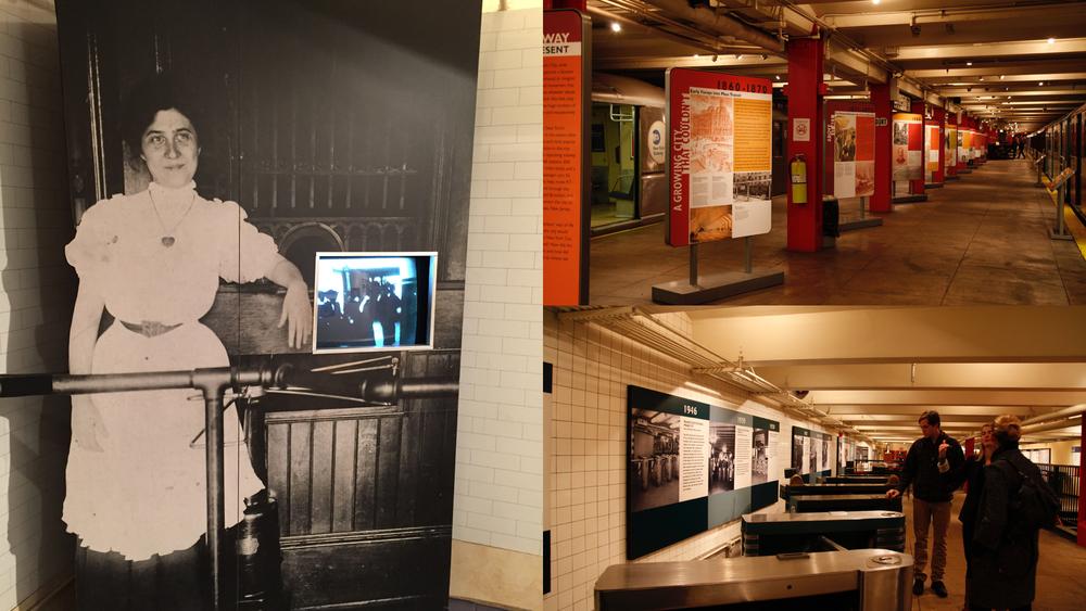 Photo was taken in New York Transit Museum.