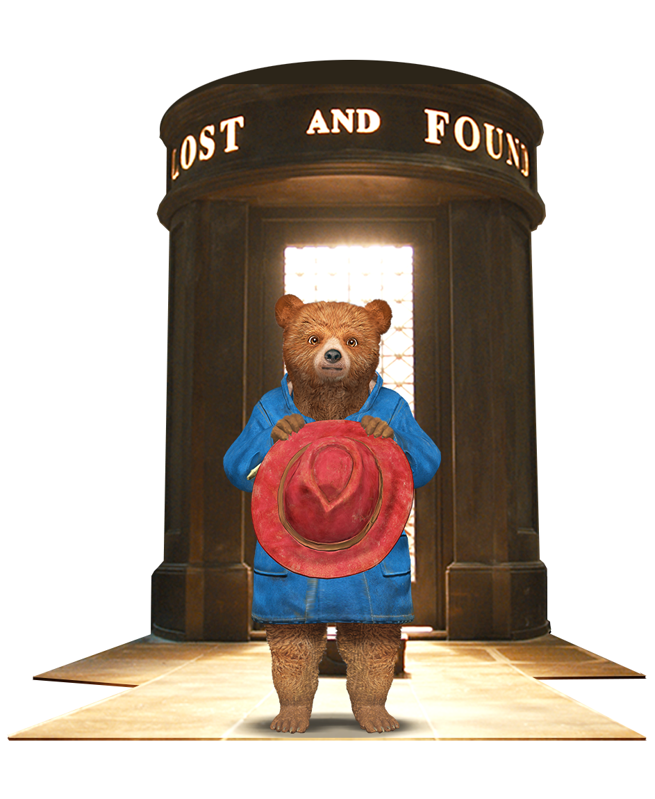 Paddington is waiting for you in the Lost & Found...