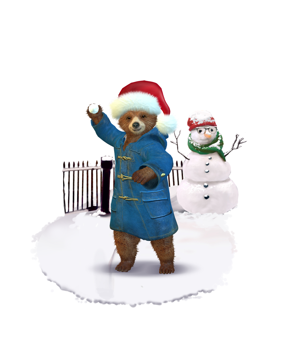 And don't forget to join him for a snowball fight!