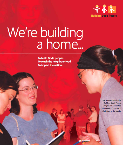 Promotional Brochure for our 2006 campaign