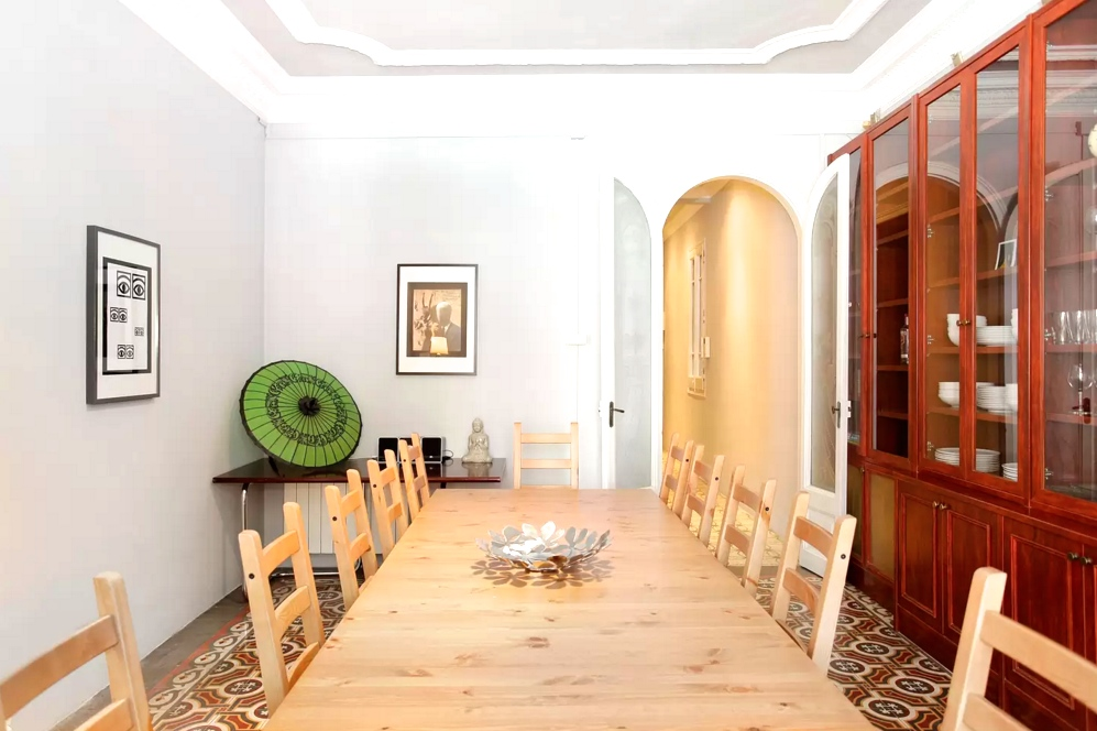 Mallorca No. 1 . Perfectly located close to Passeig de Gracia, this light and spacious apartment is one of 3 available in the same building, making it ideal for larger groups.   Book now with Airbnb!