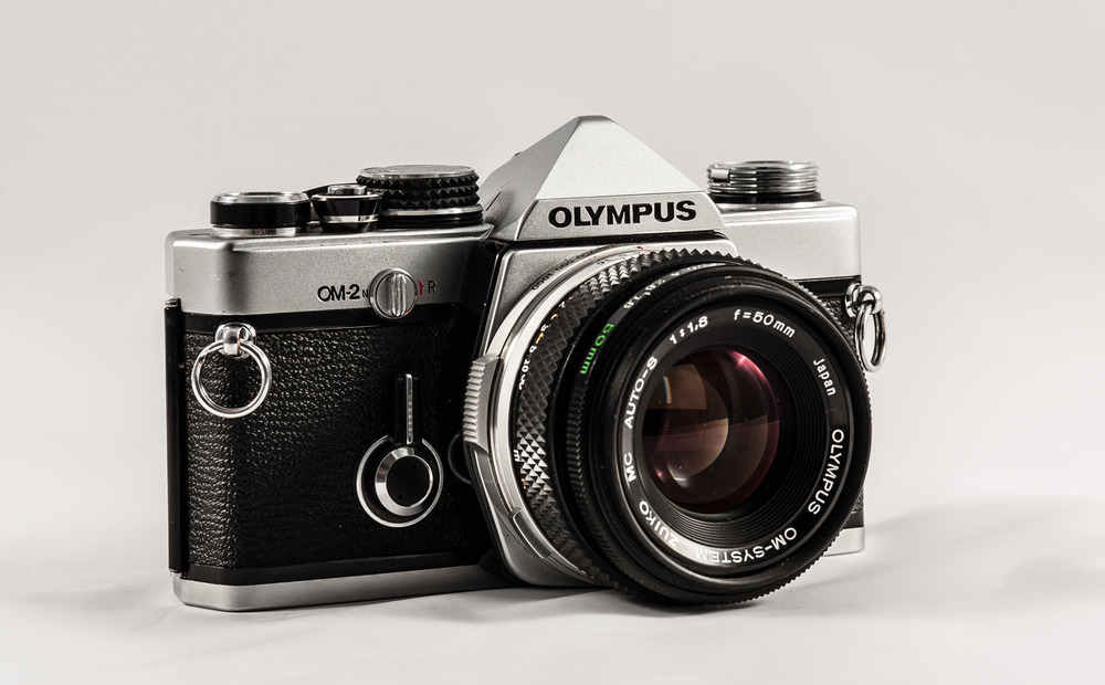 My Olympus OM2n with a Zuiko 50mm 1.8 lens