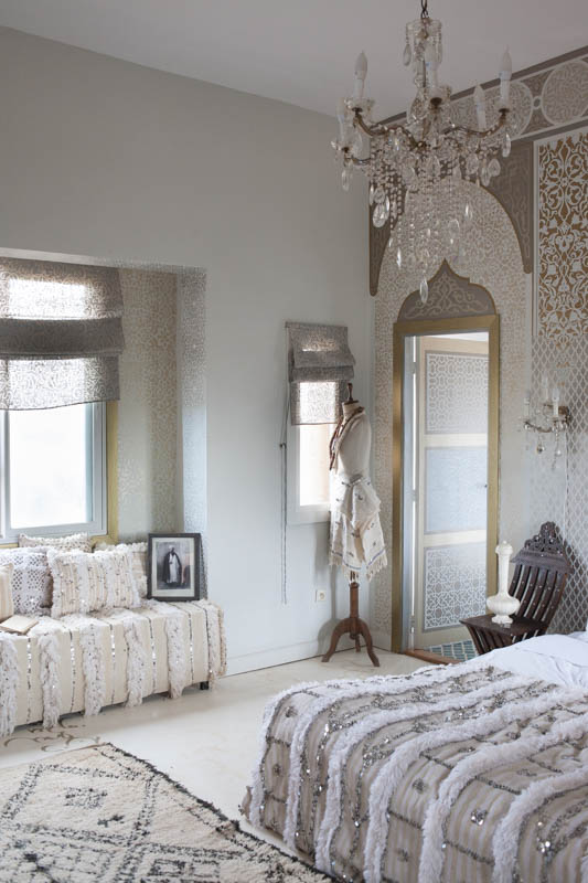 Handiras And A Dreamy Tale Of Glamorous Moroccan Bedroom Ideas M Montague