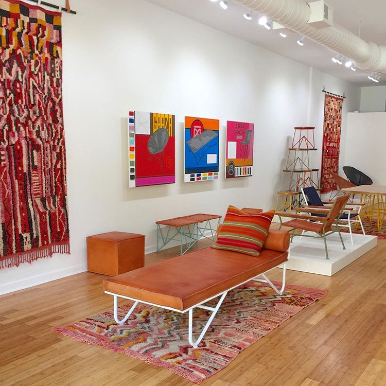 Photo by Garza Marfa  of M.Montague Souk rugs