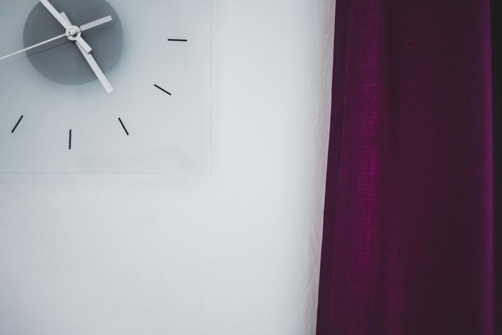 ikea Curtains Clock Color Story Collab Laura Griffiths Fotografia Torino Purple