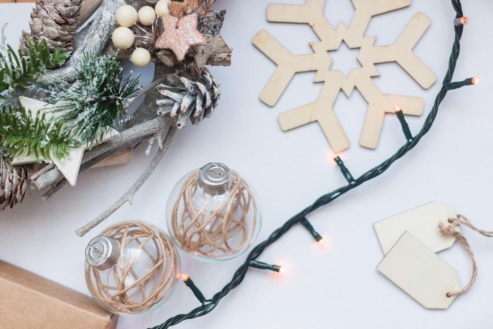 Chirstmas sneak peak, crafts diy holiday ornaments addobbi natale