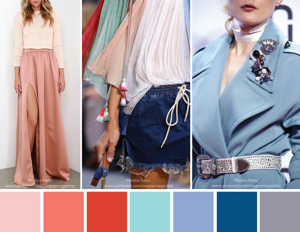 Spring 2016 colours fashion moda colori primavera