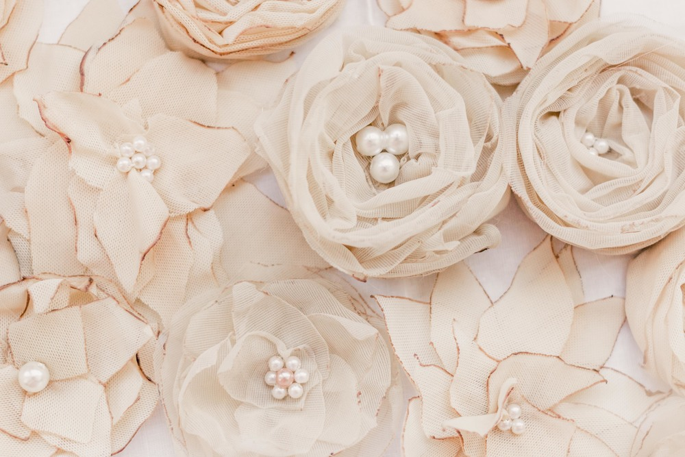 Fabric Flowers DIY fiori finiti fai da te