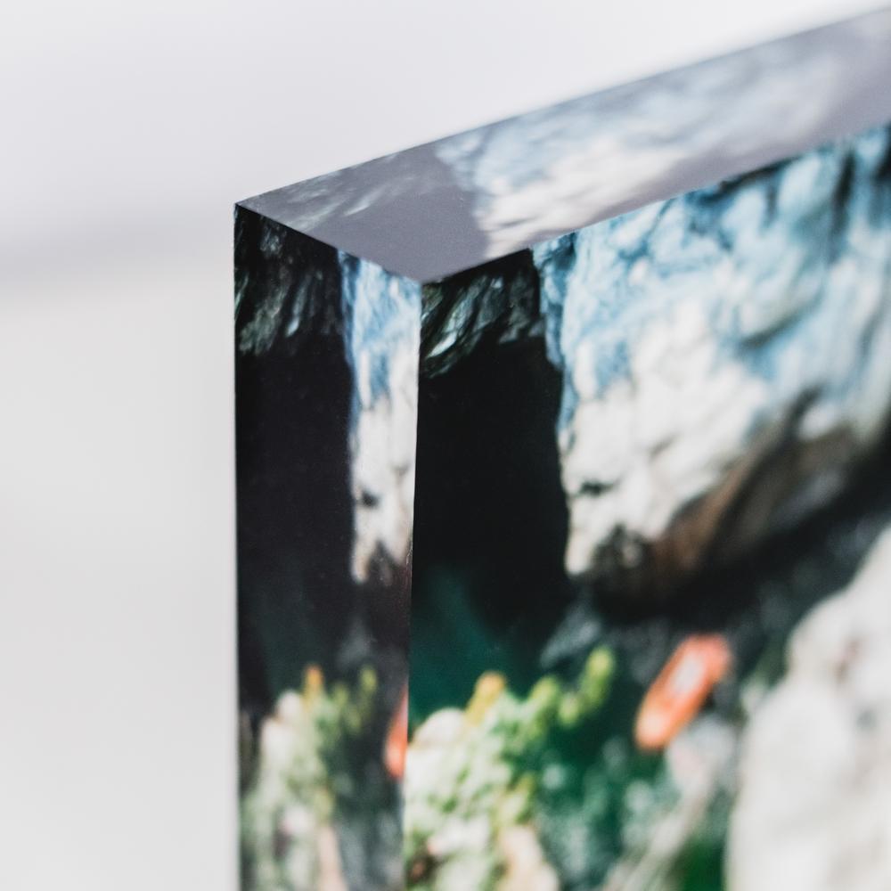 Prints under acrylic glass stampe Sotto vetro acrilico Laura Griffiths Fotografia Torino prodotti