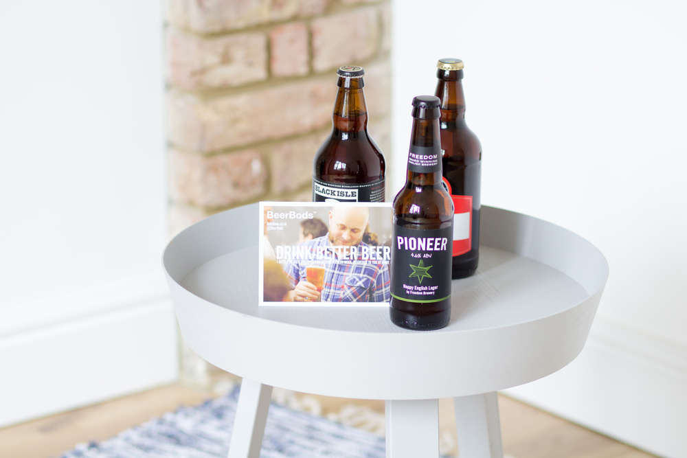 We believe a happy home needs good beer. If you agree, our friends at BeerBods will supply you with a new craft beer to try every week, for free.