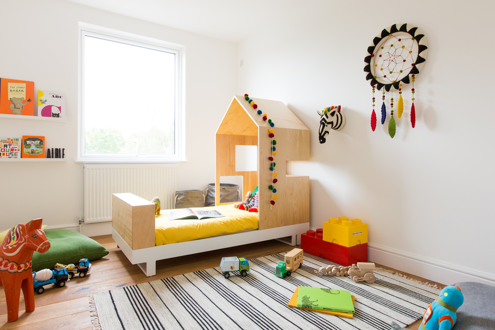 And bedroom two is on the second floor - the perfect room for your little one?