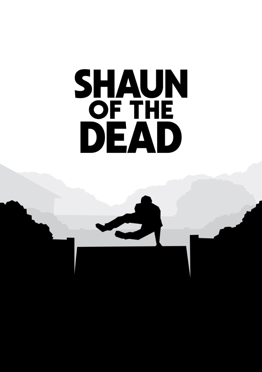 Shaun of the Dead by Zach Hallgaten