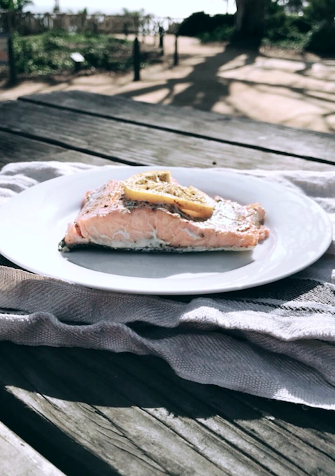 Salmon - This fish is loaded with the strong hair supporters like vitamin D and protein, and it also contains omega-3 fatty acids that promote hair growth by keeping your scalp healthy