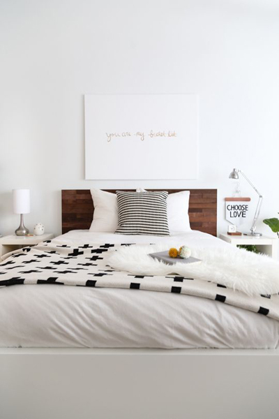 http://sugarandcloth.com/2014/02/diy-ikea-hack-stikwood-headboard/