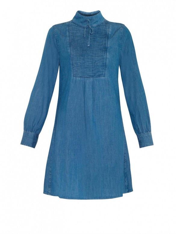 Alexa Chung for AGThe Julie Denim Dress($357)