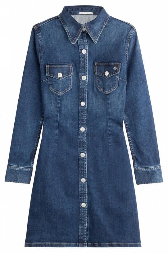Alexa Chung for AGPixie Denim Dress($455)