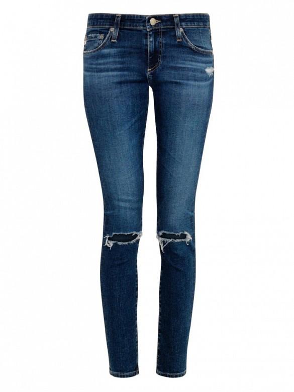 Alexa Chung for AGThe Legging Mid-Rise Skinny Jeans($350)