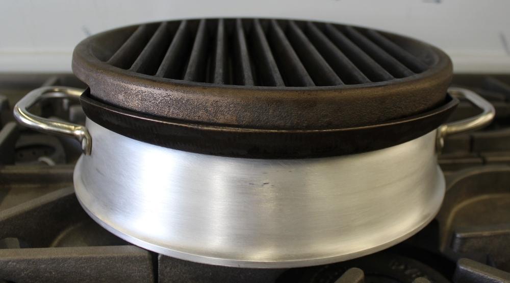 cast iron grill larger burner base