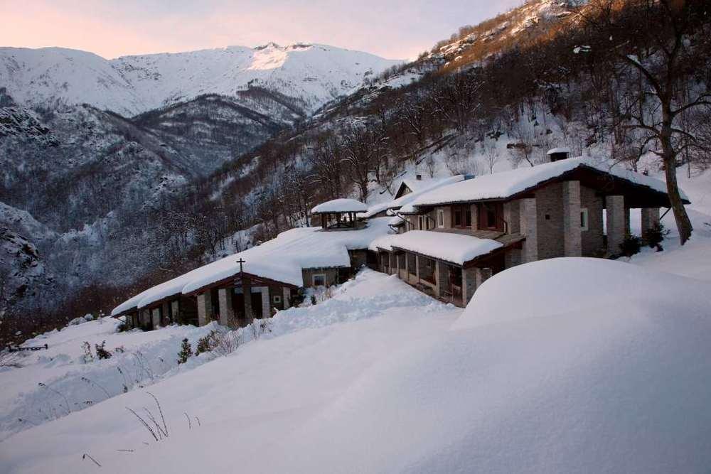 Il monastero di Prà 'd Mill, a Bagnolo Piemonte
