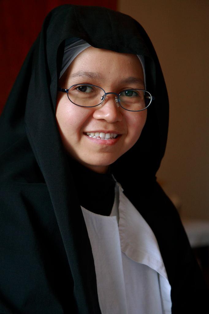 Suora indonesiana del monastero di Ovada