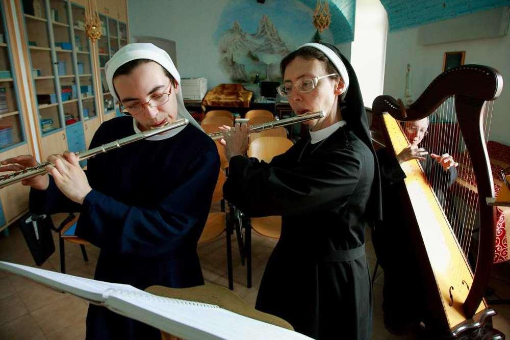 Laboratorio di musica al monastero di Pralormo
