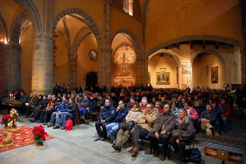 Notte di Natale alla Sacra di San Michele