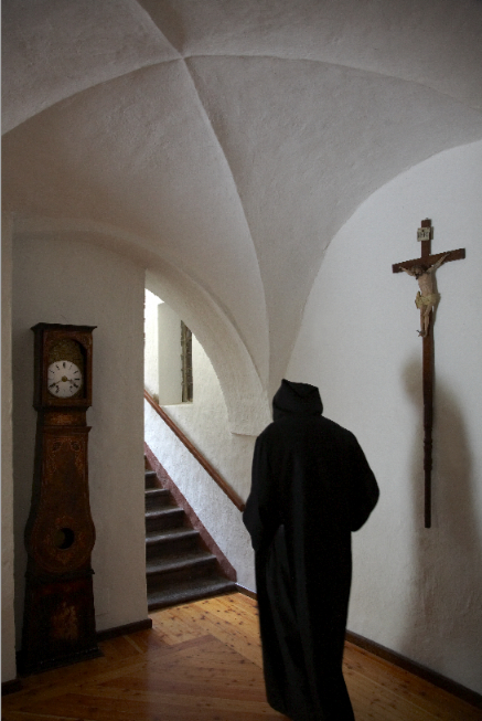 Monaco dell'abbazia di Novalesa