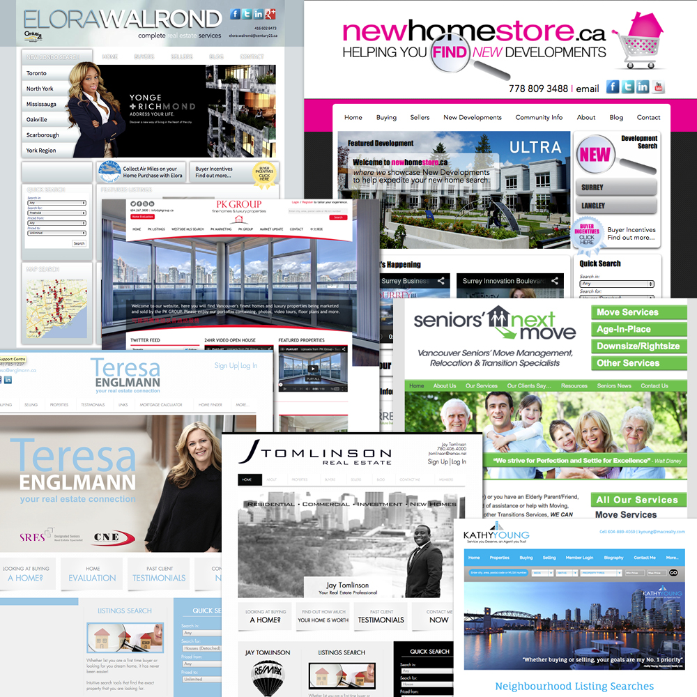 BRANDED REAL ESTATE WEBSITES CUSTOM BRAND YOUR REAL ESTATE WEBSITE! Make your standard template website and make it your own - starting at $95 with a branded banner or choose our fully custom power brand.