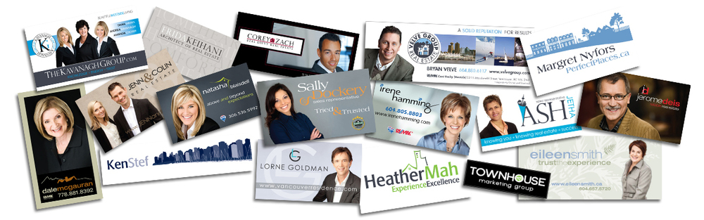 Brand identity for Real Estate Agents - Business Card Examples