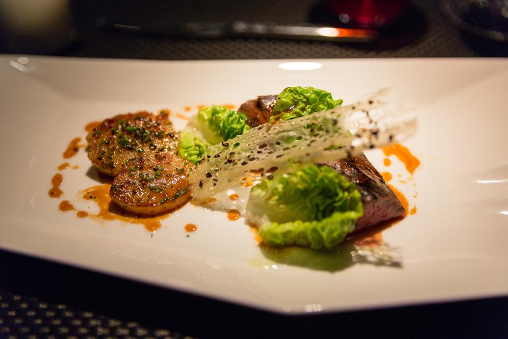 Le Boeuf - Beef tenderloin bordelaise style confit ratte potatoes