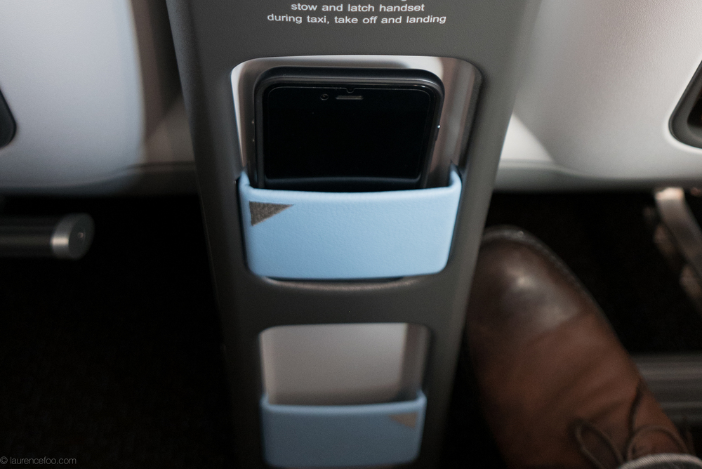 There are nooks and crannies everywhere to store your various electronic gadgets. There's two front pockets for your smartphone and they can easily fit a iPhone 6 Plus.
