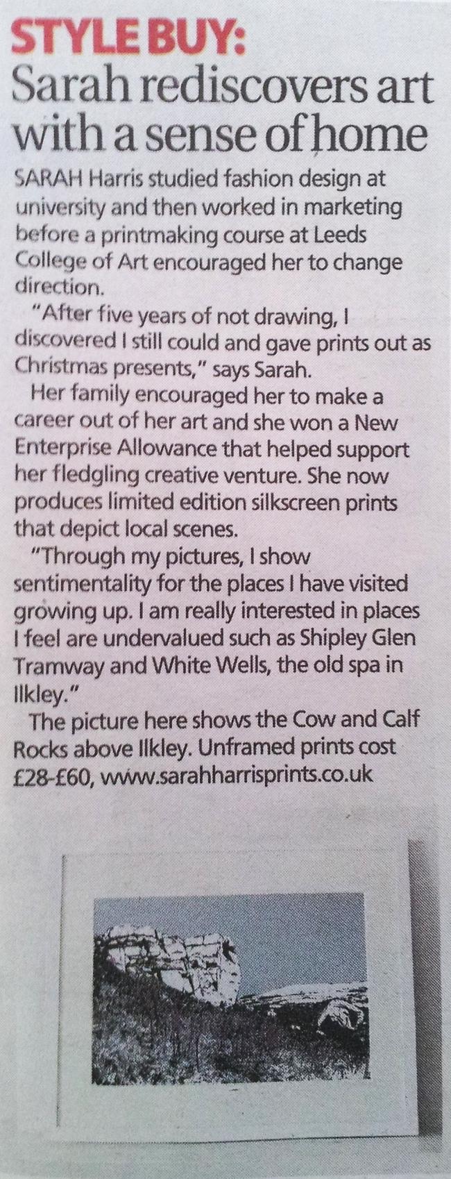 Yorkshire Post (13.04.2013)