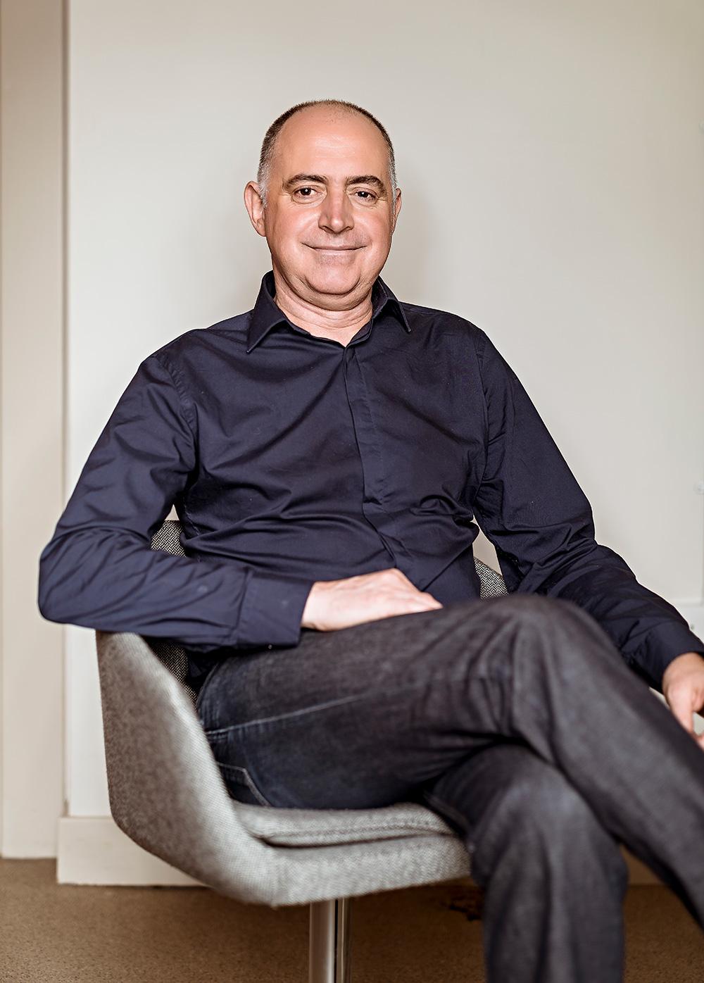Nigel Tresise align Co-Founder