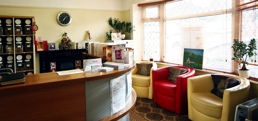 QD Chinese Acupuncture, Herb and Massage in Cork, Clinic Interior