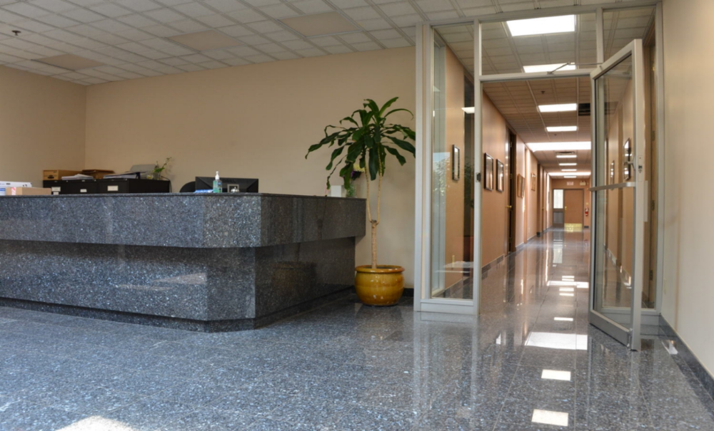 Capital Reception Area