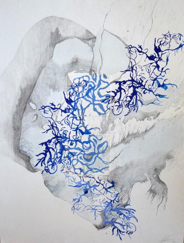 Rhizome II , 50x60cm